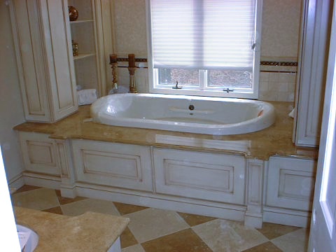 Custom Baths by Custom Woodworking and Design Passaic County