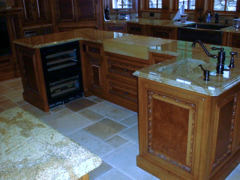 Custom Island by Custom Woodwork & Design of Passaic County